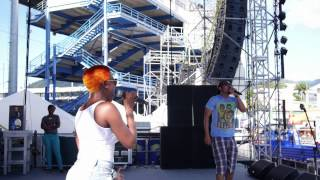 HAUNTED (ONE FETE SOUNDCHECK) | Machel Montano BTS | Soca 2014 | MachelMontanoMusic
