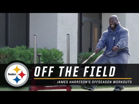 James Harrison's offseason workouts