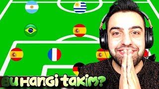 Efsane Futbol Bulmacasi Takimlari Ülkelerden Tani