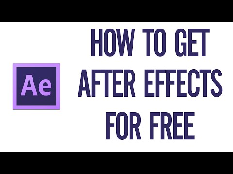 How To Get Adobe After Effects CC 2016 For Free Full Version (WORKING!)