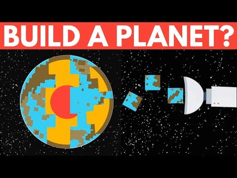 Could We Build A Planet From Scratch?