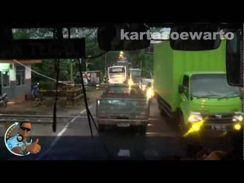 Tegal Town To Purwokerto Town By Bus - 2012 (Original)