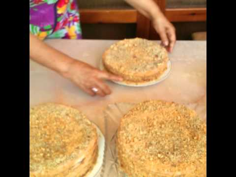 бабушкин торт рецепт как в бахетле