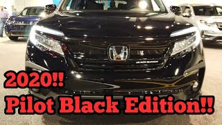 2020 Honda Pilot Black Edition AWD!- Walkaround exterior/Interior.