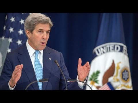 John Kerry's entire speech on Israel
