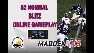 MADDEN - 52 NORMAL BLITZ SCHEME - DEVELOPING A SCHEME IN ONLINE GAME PLAY