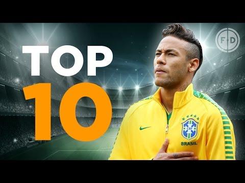 Top 10 Brazil Goalscorers