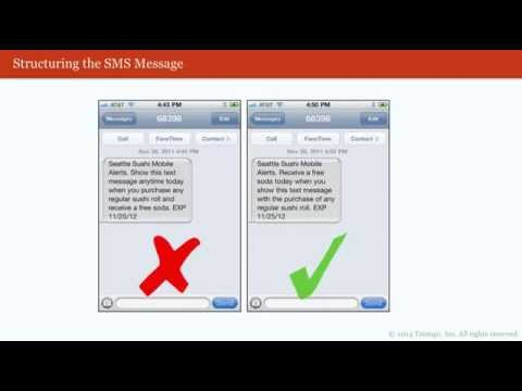 SMS Marketing Webinar - Creating Perfect SMS Promotions