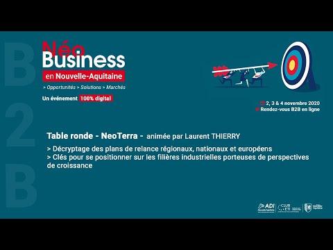 Table ronde « Néo Terra » Vers un modèle de business plus durable ?