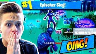 Mein ERSTER SOLO vs SQUAD SIEG! | Pures ADRENALIN! | Fortnite Battle Royale (Deutsch)
