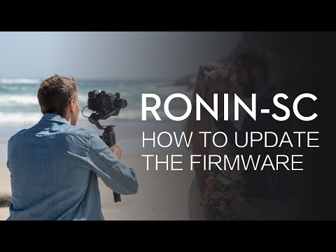 Ronin-SC   How To Update The Firmware
