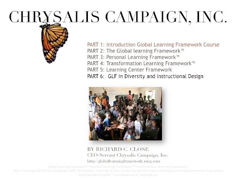 Part 1 Introduction Global Learning Framework