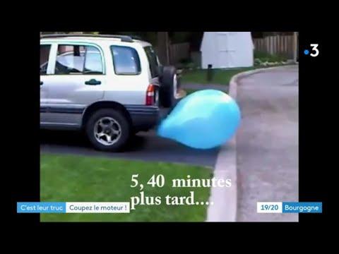 Dijon : il ne veut plus voir de voitures arrêtées le moteur allumé