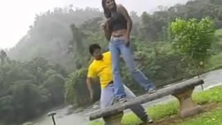 Sinhala Karaoke dance navel 04