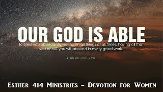 God is Able! Devotionals for Women.