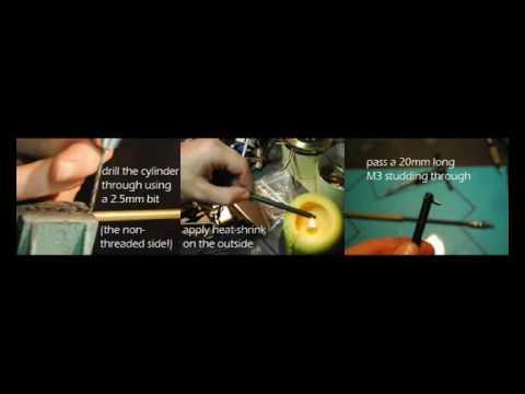Make a powerful linear actuator using a standard hobby servo