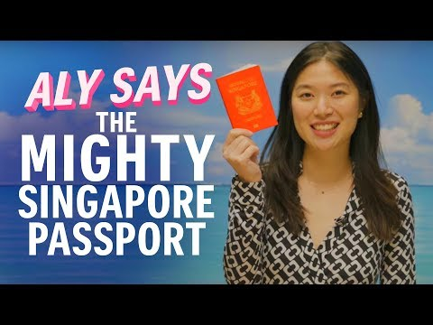 Why the Singapore passport is so powerful | Aly Says | The Straits Times