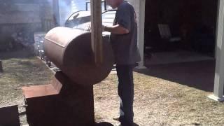 Backyard Barbecue Homemade Smoker -  Picton Prince Edward County Ontario