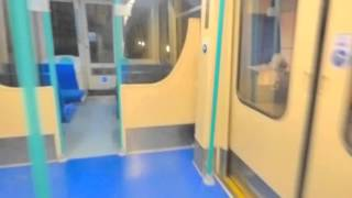 Failed attempt at riding the DLR switchback