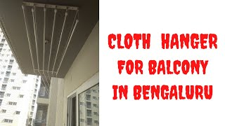Cloth Hanger for Balcony in Be…