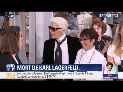 Figure incontournable de la mode, Karl Lagerfeld est mort à l'âge de 85 ans