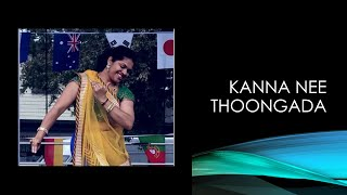 Kanna Nee Thoongada dance Baahubali 2   Prabhas, Anushka Shetty, Rana, Tamanna  Albans Bollywood