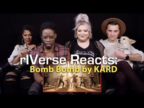rIVerse Reacts: Bomb Bomb by KARD - MV Reaction