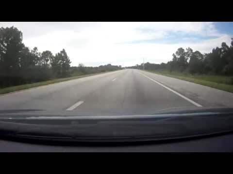 Driving from Lehigh Acres to St. Petersburg, Florida Part1