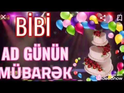 Ad Gunun Mubarek Bibi Video Youtube