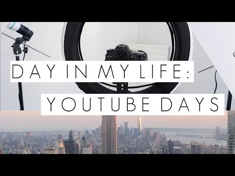 NYC YouTuber Day In My Life: Filming, Editing, Internship & More || BeautyChickee