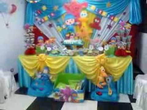 Decoracion pocoyo de fantasy decoraciones y mas youtube for Ideas y mas decoracion