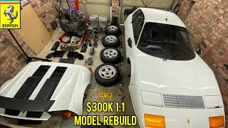 Ferrari 512 BBi The Challenge of a Home Garage Rebuild