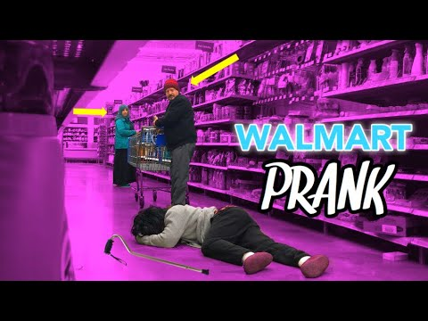 GRANDMA FALLING FAILS! (PRANK IN WALMART!)😱👵🏽 *We get Kicked Out*