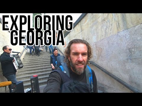 Travel in Georgia (the Country) SUPER CHEAP! A Backpacking Adventure