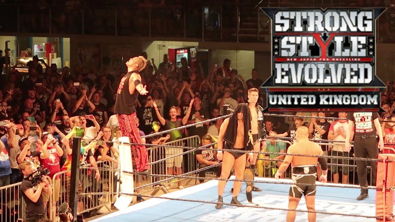 85fd0d1e1e2f0 NJPW STRONG STYLE EVOLVED UK