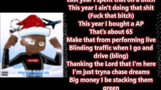 DDG -  HOOD SANTA LYRICS