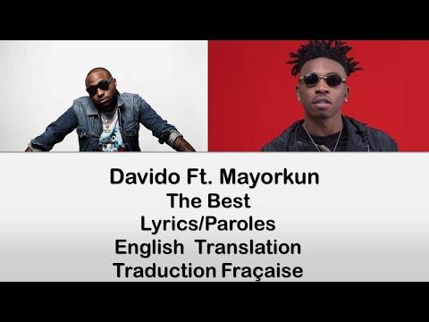 Davido – The Best  ft. Mayorkun Lyrics/Translation/Paroles/Traduction