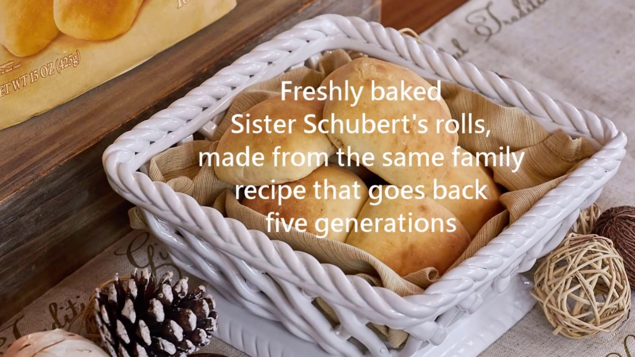 Our Homemade Traditions With Sister Schubert S Youtube