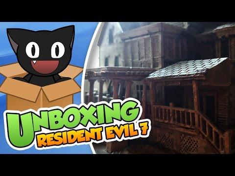 Unboxing ¡Resident evil 7 edición coleccionista!