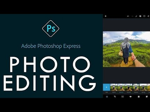 Adobe Photoshop Express Photo Editor College Maker