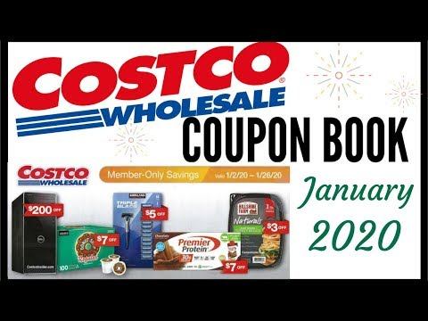 🎉JANUARY 2020 COSTCO COUPON BOOK 💵 COSTCO MEMBER ONLY 🎊 SAVINGS DEALS 2019 ● 1/2/20 – 1/26/20