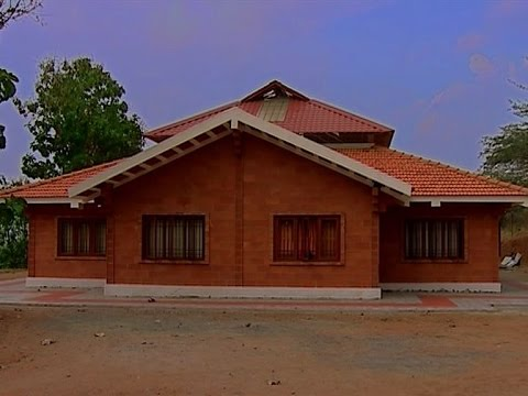 Low cost housing with bricks by architect r k ramesh for Brick home construction costs