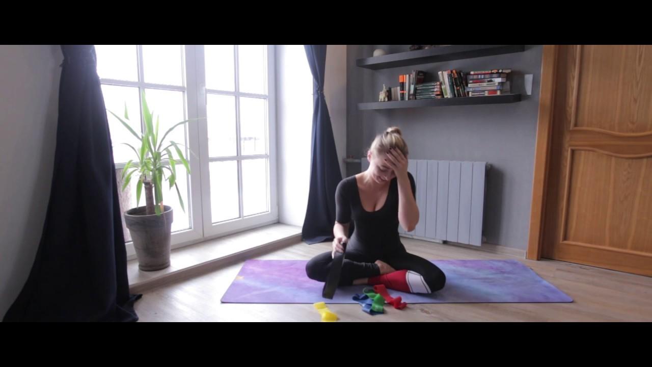 Упражнения с резинками 1 серия