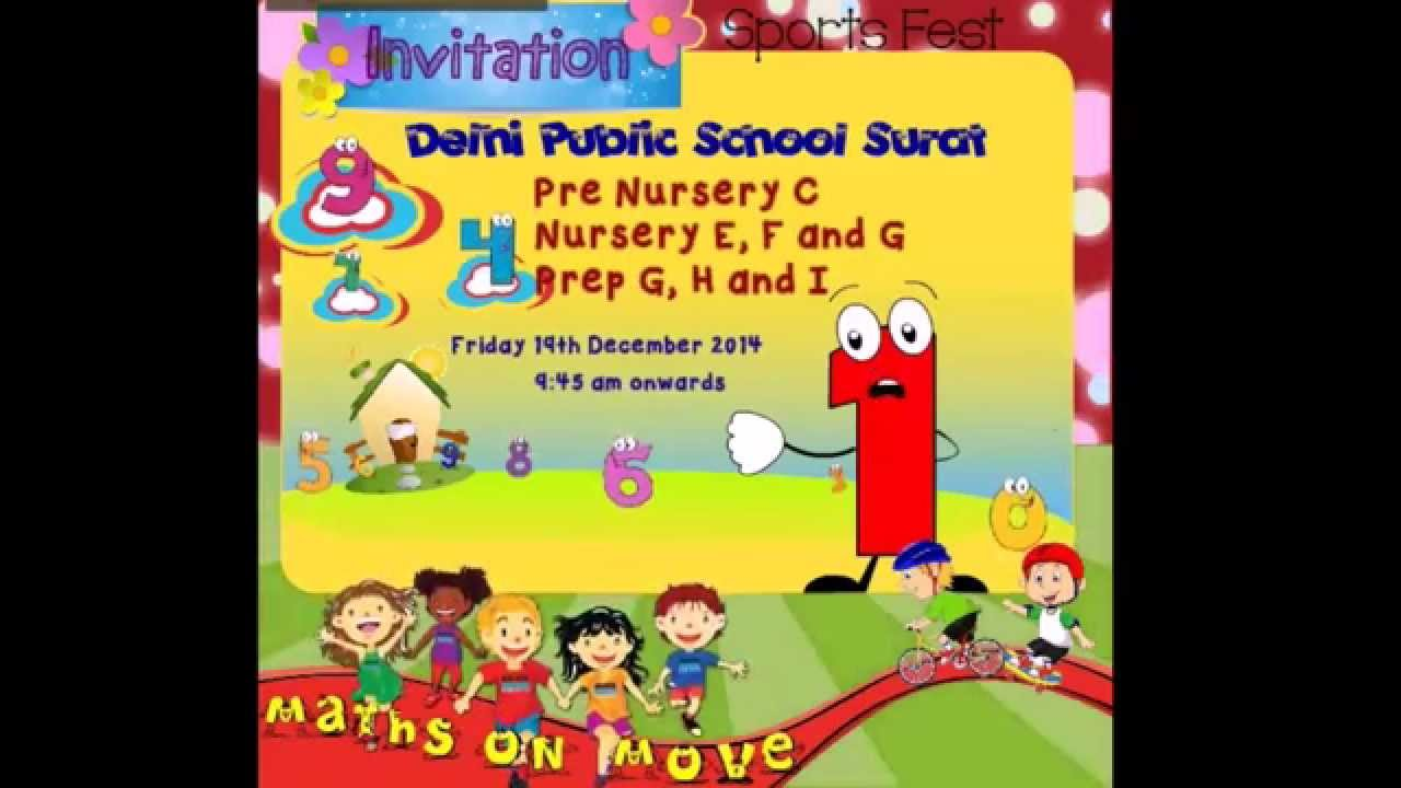 Dps surat pre primary school sports fest invitation on 19 12 2014 dps surat pre primary school sports fest invitation on 19 12 2014 stopboris Images