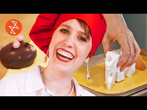How to Make Marshmallow Cheese and Chocolate Mice | Où se trouve: Juliette & Chocolat