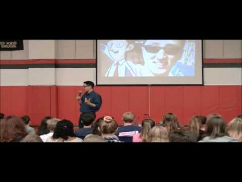 Best selling author Gene Yang visits New Richmond Middle School