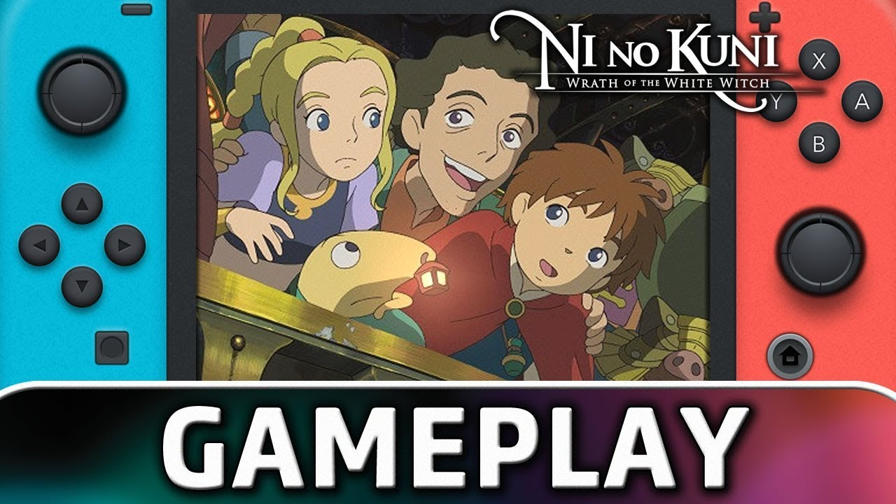 Ni no Kuni: Wrath of the White Witch | First 60 Minutes on Nintendo Switch