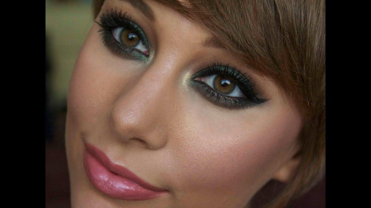 Forest Green Smokey Eye Makeup Tutorial Youtube