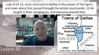 Luke 4:14-15 Lesson 35 February 19, 2021