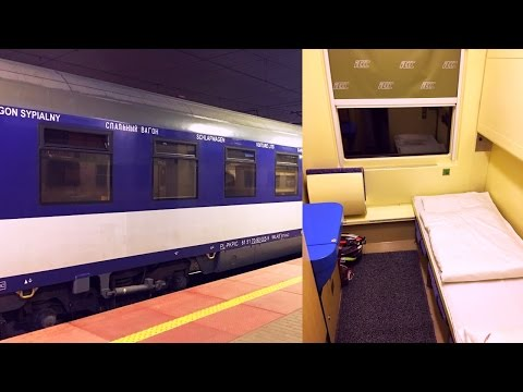Farewell Tour EuroNight Jan Kiepura Sleeper Train Cologne - Warsaw